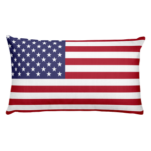 Default Title Wake Island Flag Allover Print Rectangular Pillow Home by Design Express