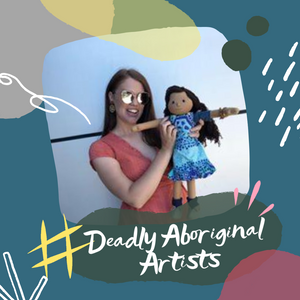 Deadly Aboriginal Artist Series - Kiya Watt