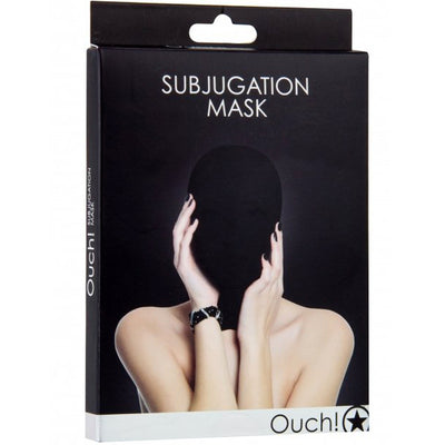 Ouch! Subjugation Mask-Black