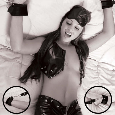 Fetish Fantasy Limited Edition Wraparound Mattress Restraints - Godfather Adult Sex and Pleasure Toys