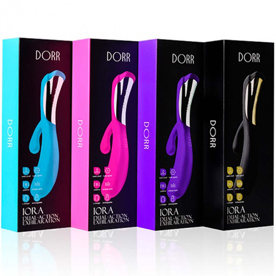 Dorr Iora - Black - Godfather Adult Sex and Pleasure Toys