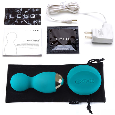 Lelo Hula Bead - Ocean Blue - Godfather Adult Sex and Pleasure Toys