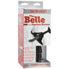 Vac-U-Lock Platinum Edition - The Belle with Supreme Harness - Charcoal - Godfather Adult Sex and Pleasure Toys