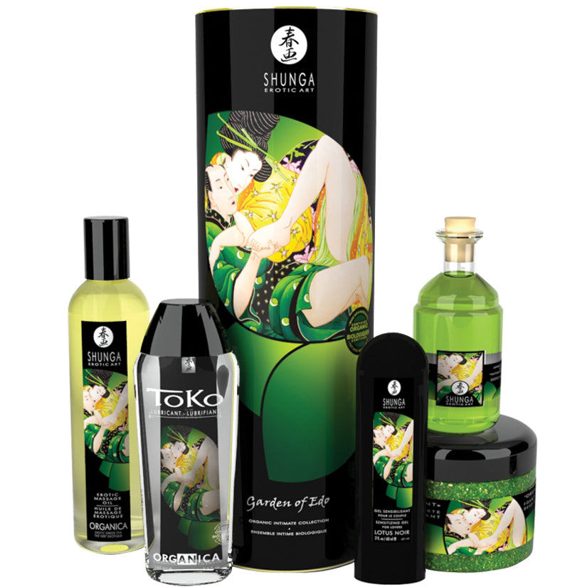Shunga Garden of Edo Organic Collection-5 Piece Set