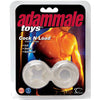 Adam Male Toys Cock N Load Cock Rings-Clear - Godfather Adult Sex and Pleasure Toys
