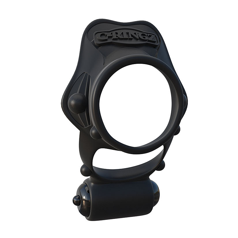 Fantasy C-Ringz Rock Hard Vibrating Ring - Black