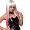 Pleasure Wigs Manson-White/Pink - Godfather Adult Sex and Pleasure Toys