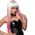 Pleasure Wigs Manson-White/Pink