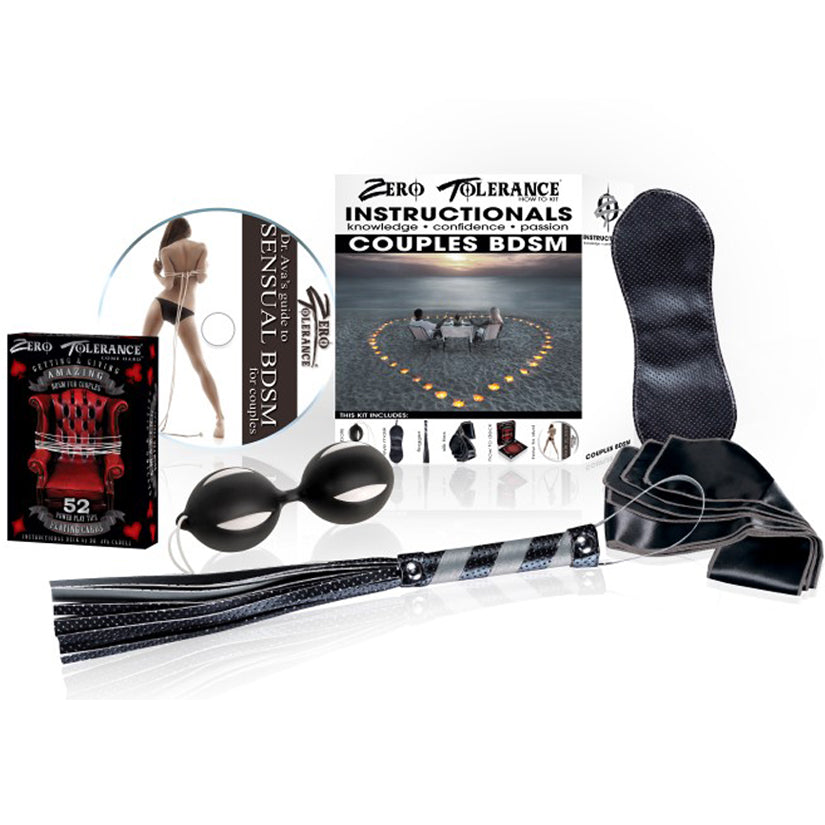 Instructionals Kit- Sensual BDSM For Couples
