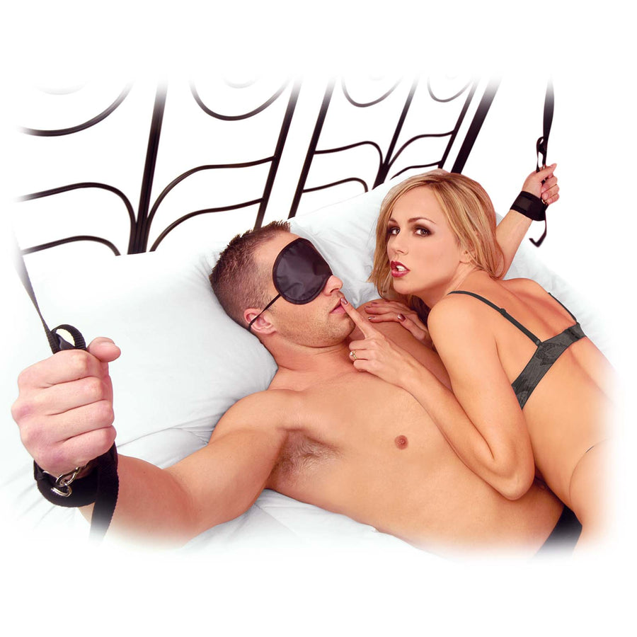 Fetish Fantasy Series Cuff & Tether Set - Godfather Adult Sex and Pleasure Toys