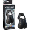 Fantasy C-Ringz Rock Hard Ball Banger Black - Godfather Adult Sex and Pleasure Toys