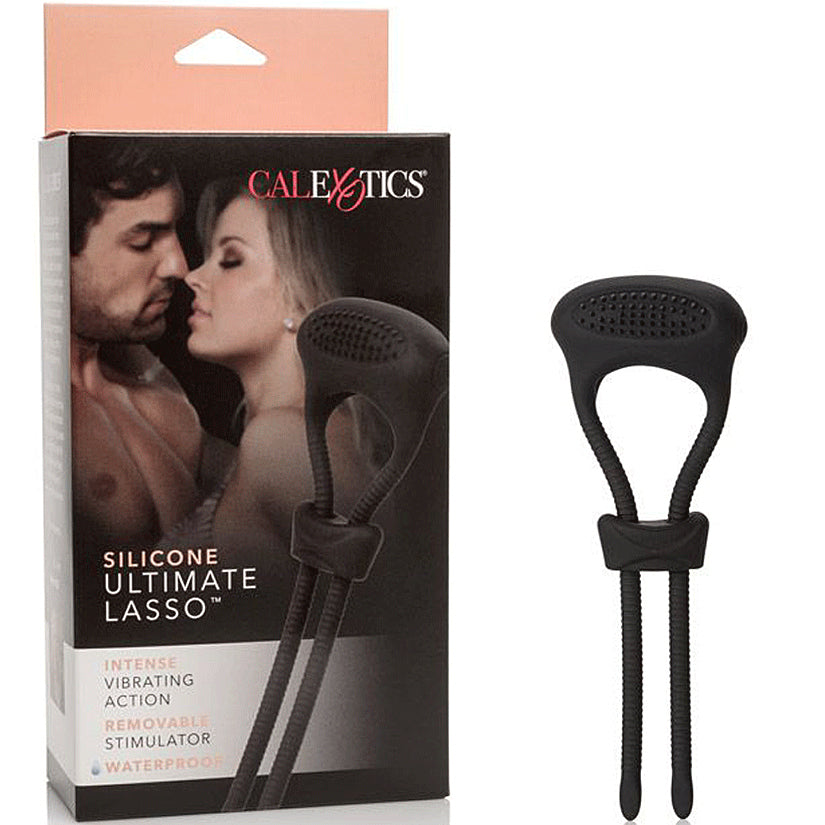 Silicone Ultimate Lasso-Black - Godfather Adult Sex and Pleasure Toys