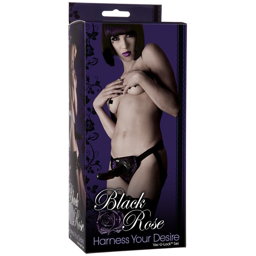 Black Rose - Harness Your Desire (Vac-U-Lock set)