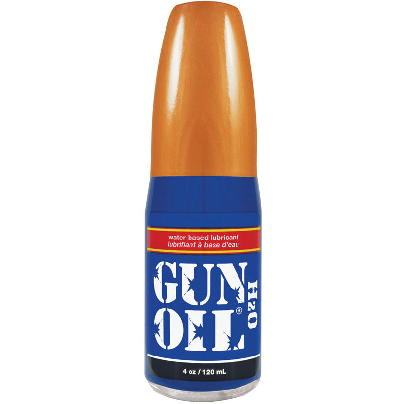 Gun Oil H2o - 4oz - Godfather Adult Sex and Pleasure Toys