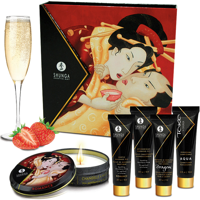 Shunga Geisha's Secrets Collection-Strawberry - Godfather Adult Sex and Pleasure Toys