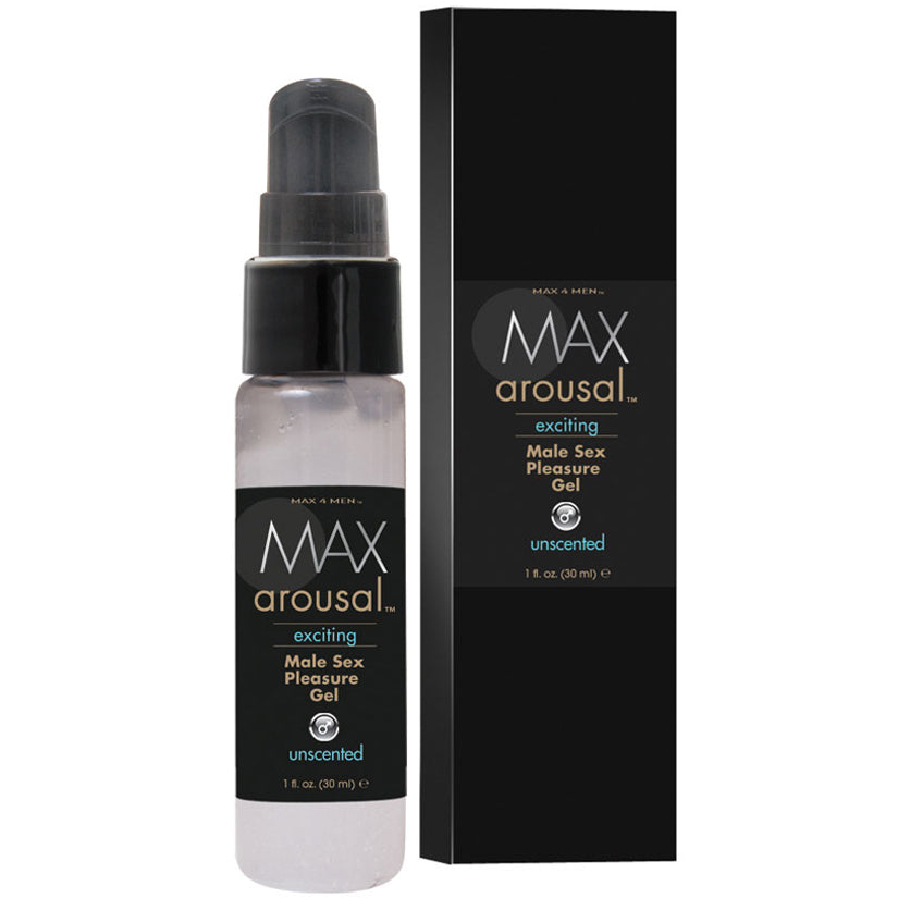 Max Arousal Exciting Male Sex Pleasure Gel 1oz - Godfather Adult Sex and Pleasure Toys