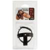 Cock & Ball Straps - Leather - 3 Piece Divider - Godfather Adult Sex and Pleasure Toys