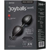 Joyballs Secret 50 Shades of -Black/Black - Godfather Adult Sex and Pleasure Toys