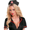 Hustler Lingerie 2Pc Black Nurse Set - Godfather Adult Sex and Pleasure Toys