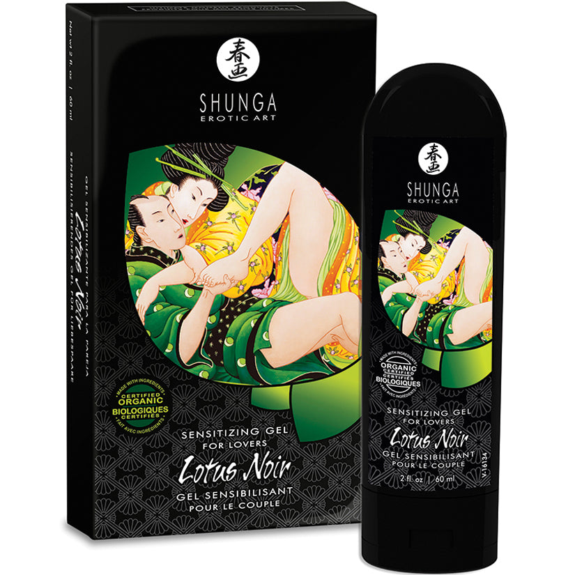 Shunga Lotus Noir - Godfather Adult Sex and Pleasure Toys