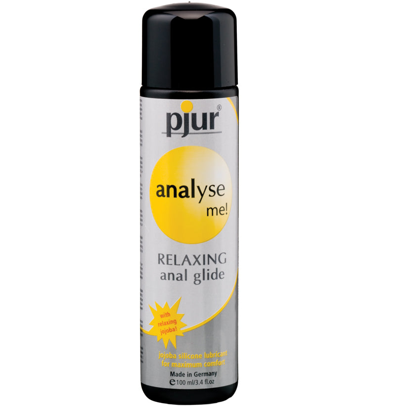 Pjur Analyse Me! Relaxing Silicone Anal Glide 3.4oz - Godfather Adult Sex and Pleasure Toys