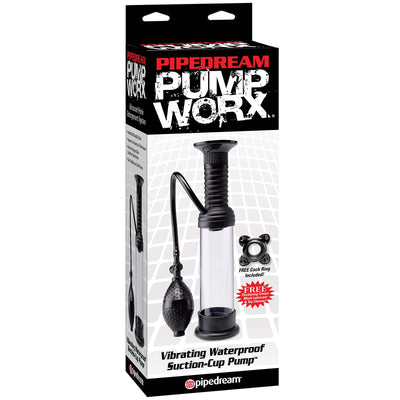 Pump Worx Vibrating Waterproof Wall Banger Pump - Godfather Adult Sex and Pleasure Toys
