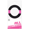 All Night Stand Silicone Penis Ring 42mm-Pink/Black - Godfather Adult Sex and Pleasure Toys