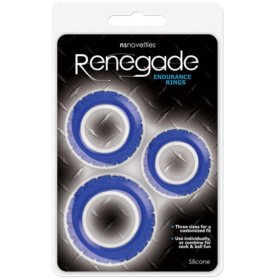 Renegade - Endurance Rings - Blue