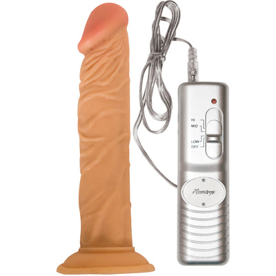 "All American Whoppers Flexible Dong-Flesh 8"" - Godfather Adult Sex and Pleasure Toys"