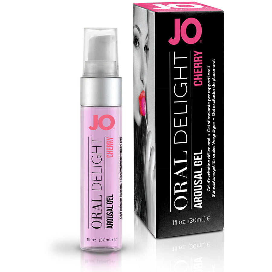 JO Oral Delight-Cherry Burst 1oz