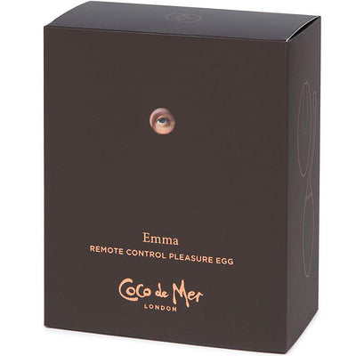 Coco De Mer Emma Remote Control Egg - Godfather Adult Sex and Pleasure Toys