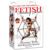 Fetish Fantasy Series Fantasy Web Bed Restraint System - Godfather Adult Sex and Pleasure Toys