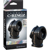 Fantasy C-Ringz Cock Pipe With Ball-Stretcher Black - Godfather Adult Sex and Pleasure Toys
