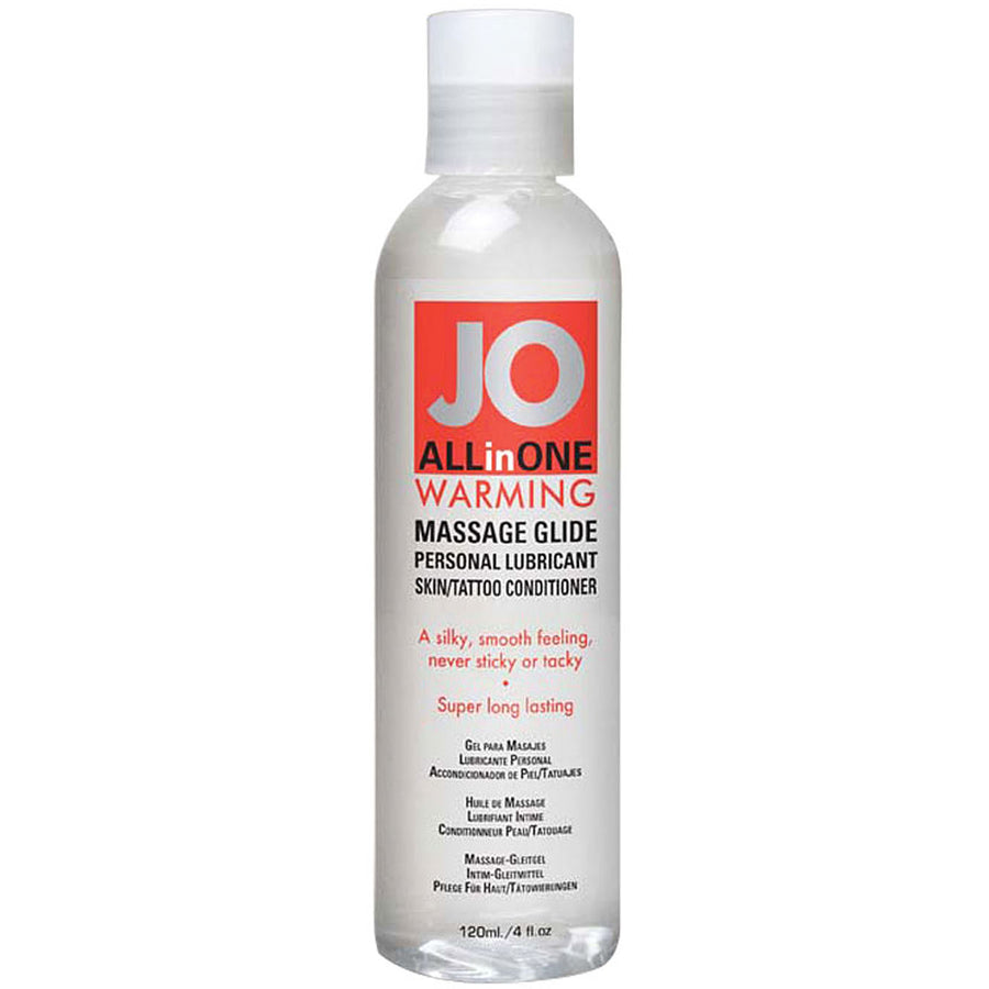 JO All In One Massage Glide-Warming 4oz