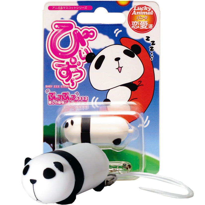 Lucky Animal Vibrating Bullet- Panda - Godfather Adult Sex and Pleasure Toys