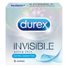 Durex Invisible 3's - Godfather Adult Sex and Pleasure Toys