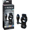 Fantasy C-Ringz Ironman Ass-Gasm - Black - Godfather Adult Sex and Pleasure Toys