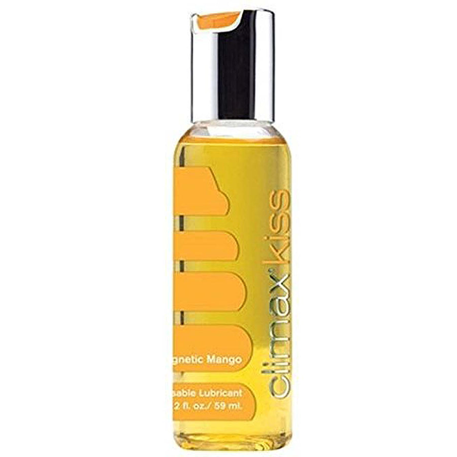 Climax Kiss Magnetic Mango 2 fl. oz - Godfather Adult Sex and Pleasure Toys