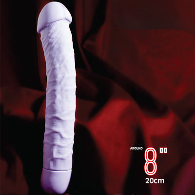 "Bio Vibe 8"" - Purple - Godfather Adult Sex and Pleasure Toys"