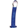 Don Wands Blue Swirled Delight - Godfather Adult Sex and Pleasure Toys