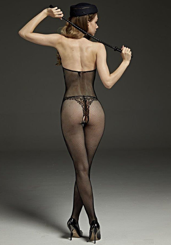 High Neck Bodystocking