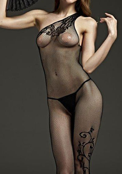 One Shouldered Bodystocking