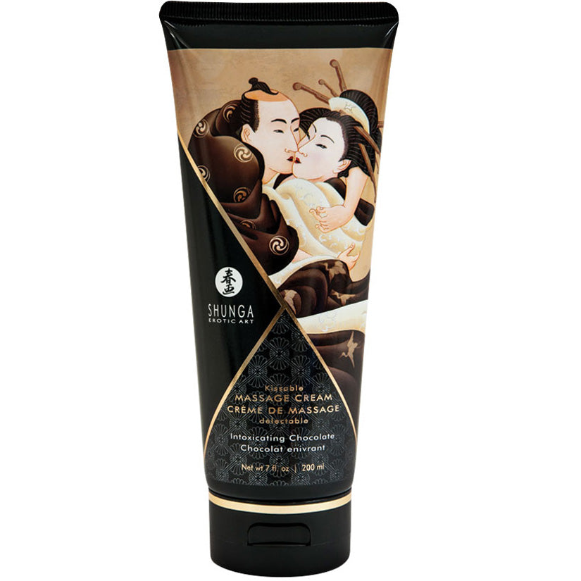 Shunga Kissable Massage Cream-Chocolate 7oz