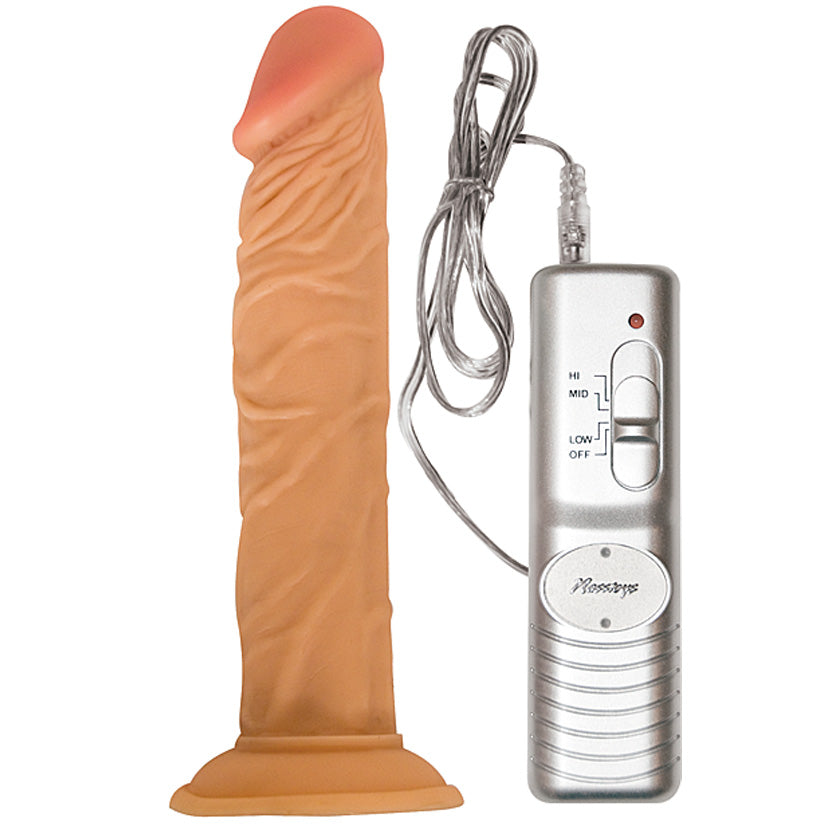 "All American Whoppers Flexible Dong-Flesh 7"" - Godfather Adult Sex and Pleasure Toys"