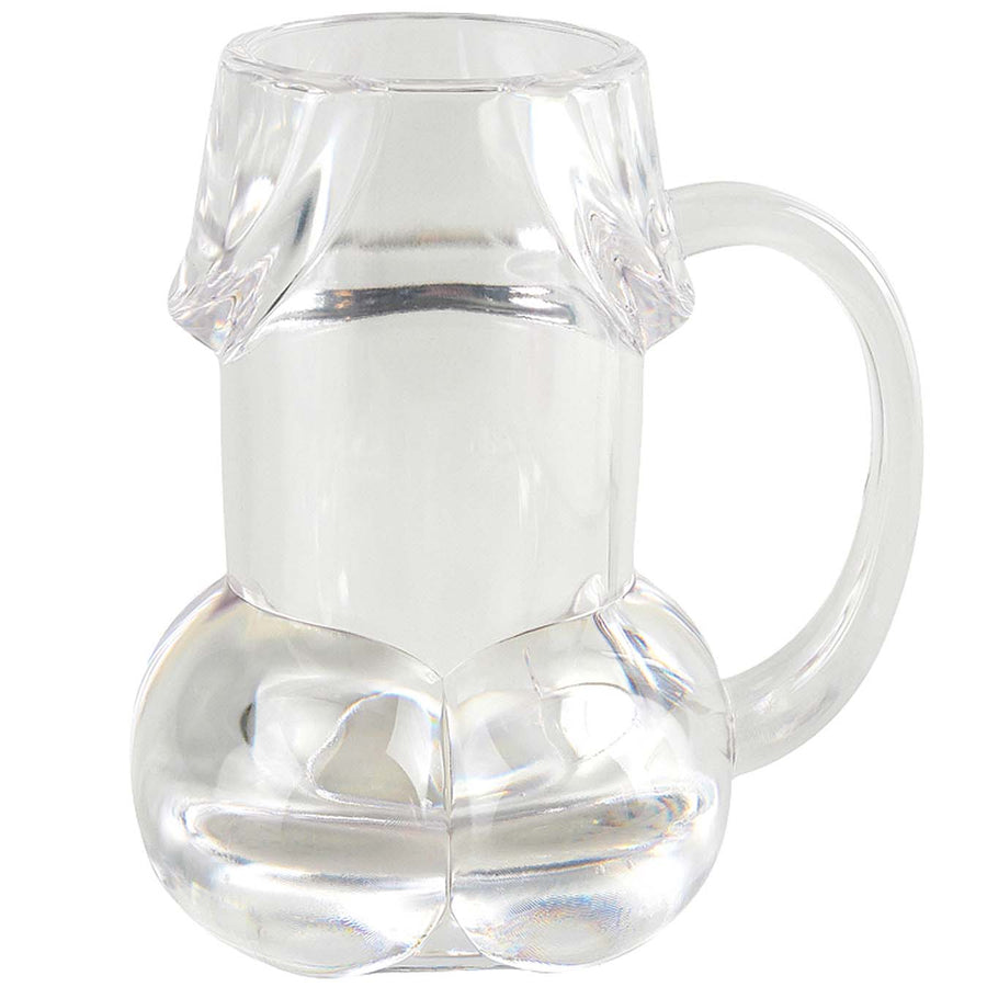 Bachelorette Party Pecker Beer  Mug-Clear - Godfather Adult Sex and Pleasure Toys