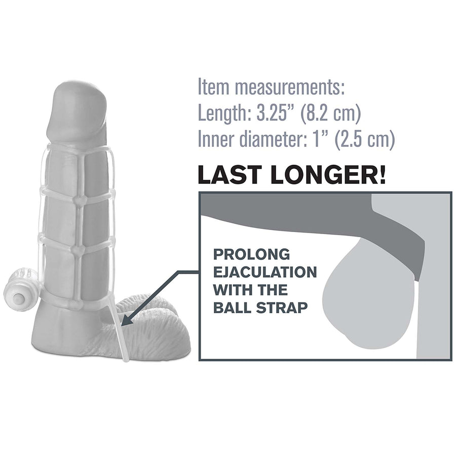 Fantasy X-tensions Vibrating Climax Cage - Godfather Adult Sex and Pleasure Toys