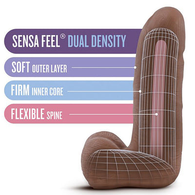 "Au Naturel Carlito-Latin 5.5"" - Godfather Adult Sex and Pleasure Toys"