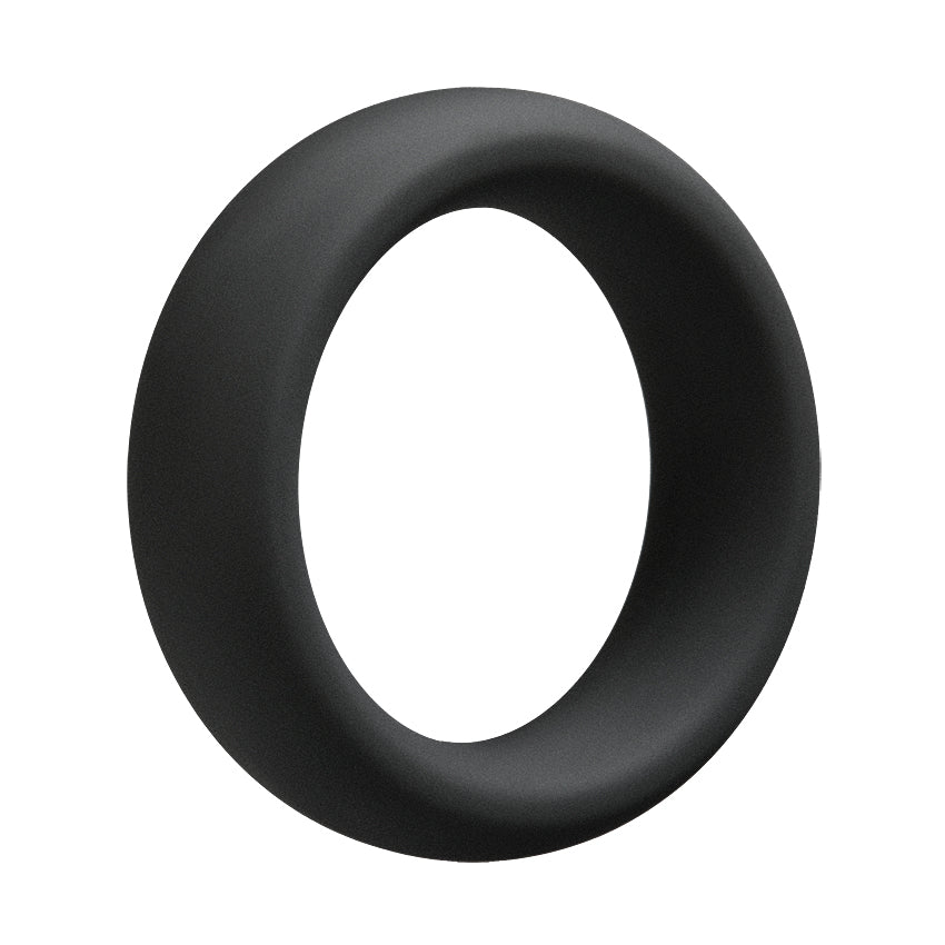 OptiMale C-Ring Thick 55mm-Black - Godfather Adult Sex and Pleasure Toys