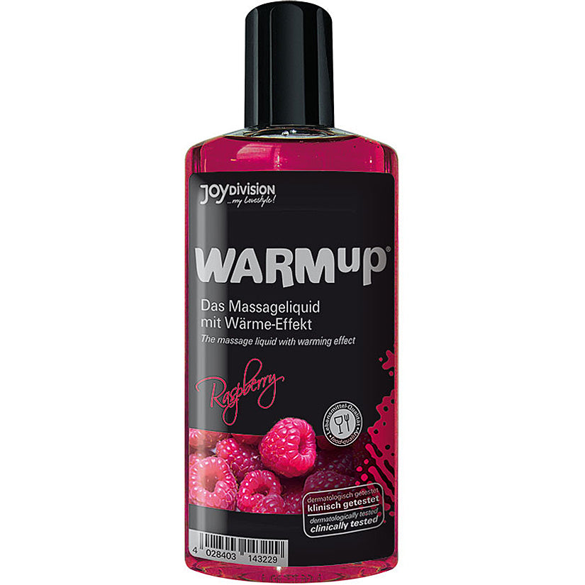 Warmup Massage Oil-Raspberry 5oz