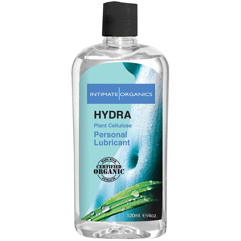 Intimate Organics Hydra Water-based Lubricant 4oz - Godfather Adult Sex and Pleasure Toys